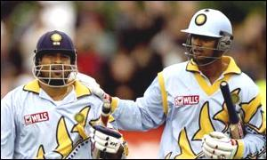 The Match Against Kenya in WC 99. The scored a Pantnership of 331 Runs Against NZ in same same year later.